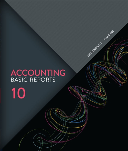 Accounting: Basic Reports with Online Study Tools