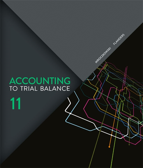 Accounting : To Trial Balance