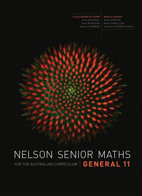 Nelson Senior Maths General 11 for the Australian Curriculum