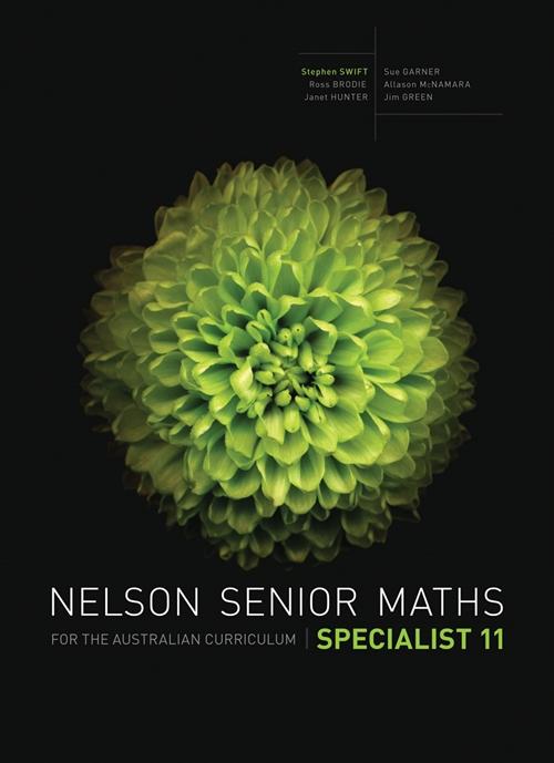 Nelson Senior Maths Specialist 11 for the Australian Curriculum