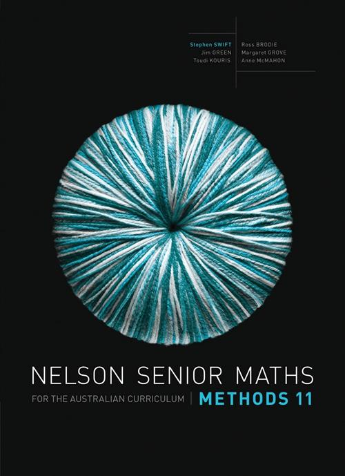 Nelson Senior Maths Methods 11 Solutions DVD