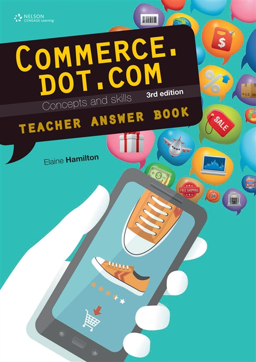 Commerce.dot.com Concepts and Skills Teacher Resource