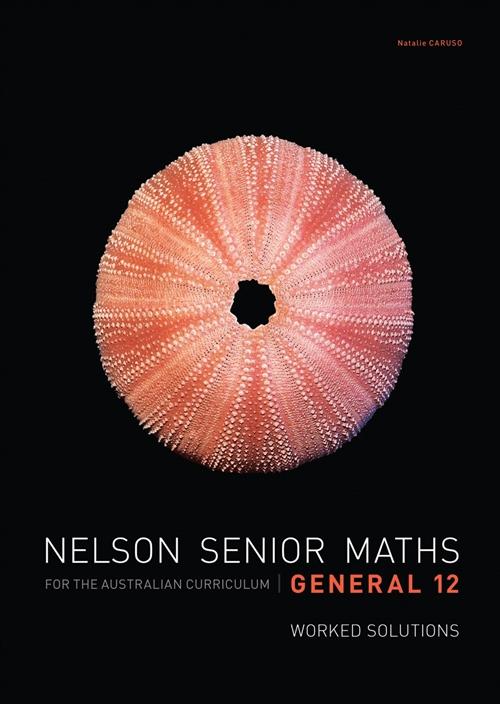 Nelson Senior Maths General 12 Solutions DVD