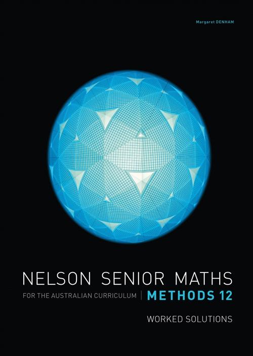 Nelson Senior Maths Methods 12 Solutions DVD