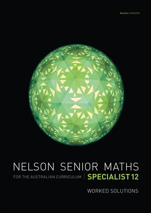 Nelson Senior Maths Specialist 12 Solutions DVD