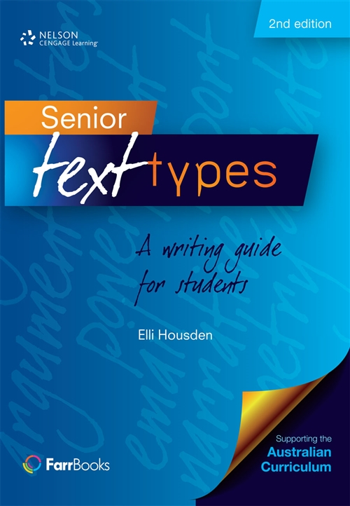 Senior Text Types: A writing guide for students
