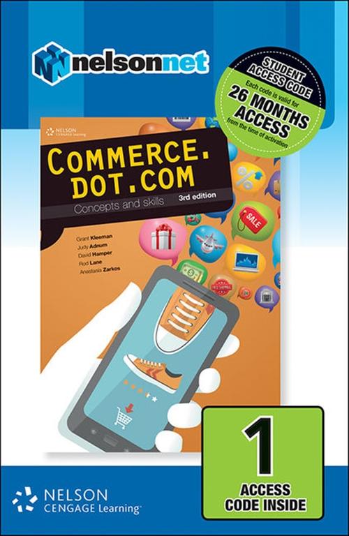 Commerce.dot.com Concepts and Skills 1 Access Code