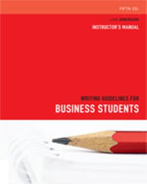 Bundle: Strategic Marketing : Decision Making and Planning + Writing  Guidelines for Business Students
