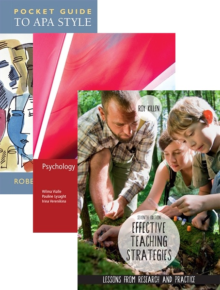 Bundle: Psychology for Educators + Effective Teaching Strategies: Lessons from Research and Practice + Pocket Guide to APA Style