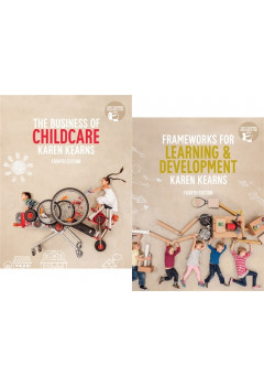 Bundle: Frameworks for Learning and Development  + The Business of Childcare with Student Resource Access 12 Months