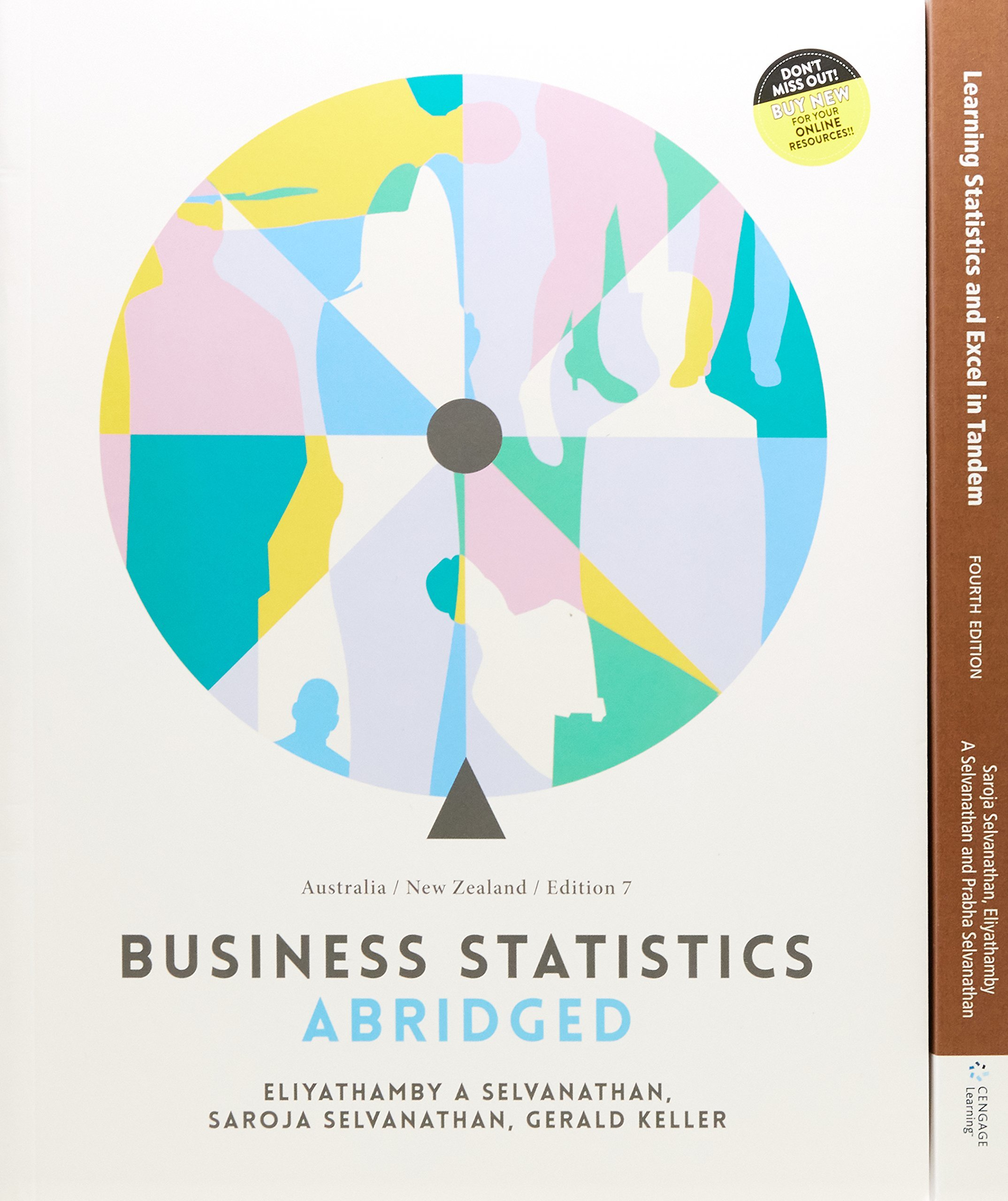 Bundle: Business Statistics Abridged: Australia NeZ with Student Resource Access for 12 Months + PP0952 - Learning Statistics and EXCEL in Tandem