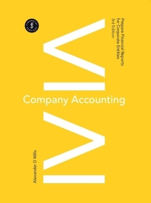3I eBook: Company Accounting - Prepare Financial Reports for Corporate Entities
