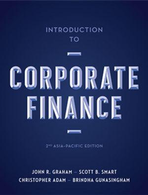 Bundle: Introduction to Corporate Finance: Asia-Pacific Edition with  Student Resource Access + MindTap Printed Access Card 12 Months