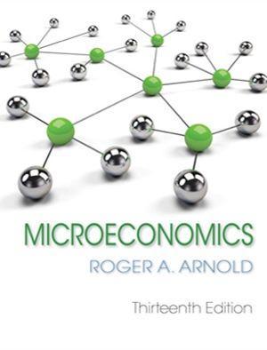 Bundle: Microeconomics + MindTap Economics, 1 term (6 months) Printed Access Card for Arnold's Microeconomics