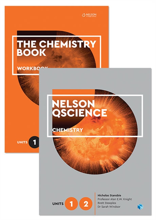 Nelson QScience Chemistry Student Pack Units 1 & 2