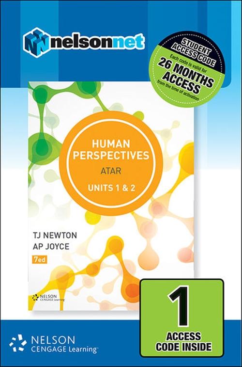 Human Perspectives Units 1 & 2 (1 Access Code Card)