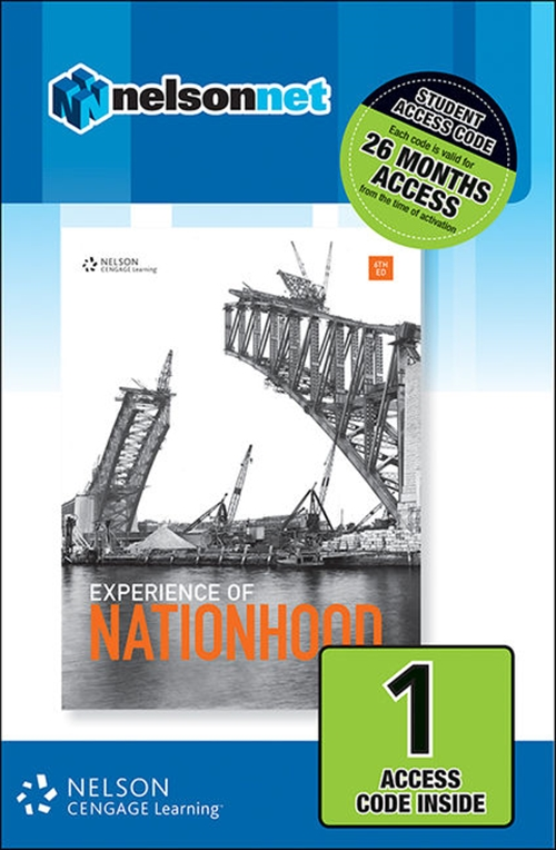 Experience of Nationhood (1 Access Code Card)