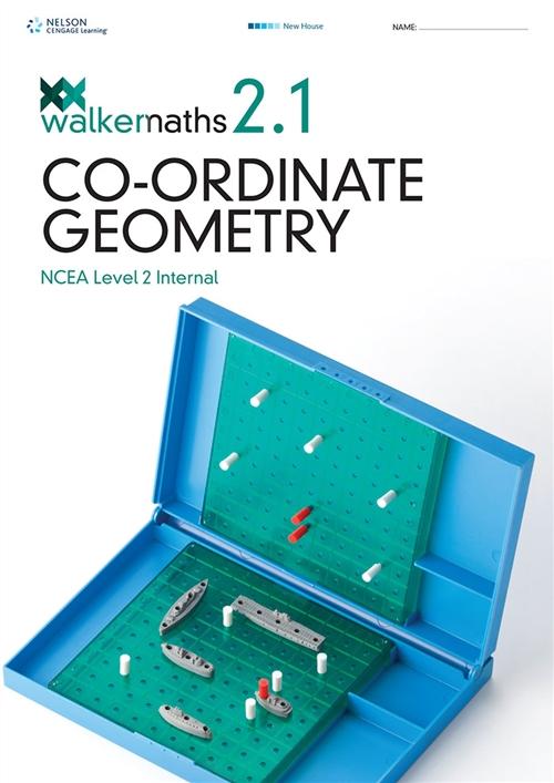 Walker Maths Senior 2.1 Co-ordinate Geometry Workbook