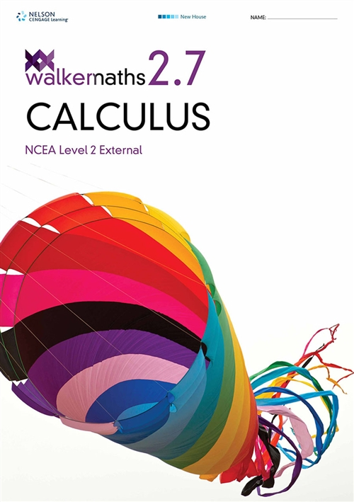 Walker Maths Senior 2.7 Calculus Workbook