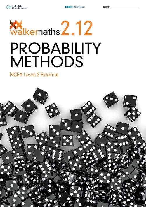 Walker Maths Senior 2.12 Probability Methods Workbook