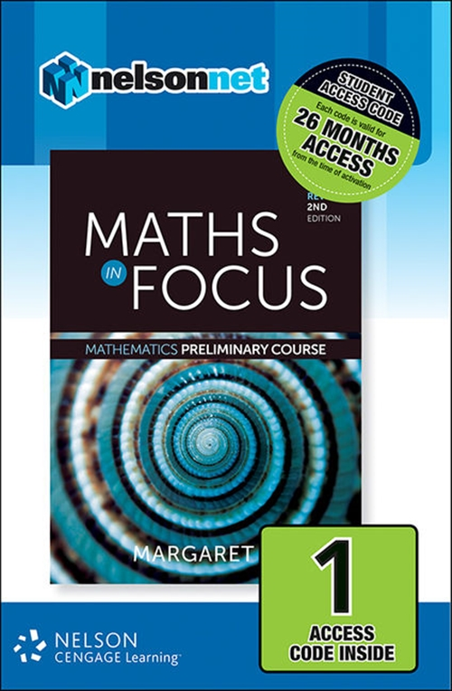 Maths in Focus Mathematics Preliminary Course Revised (1 Access Code  Card)