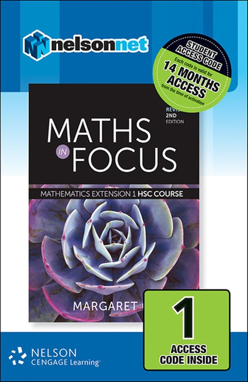 Maths in Focus: Mathematics Extension 1 HSC Course Revised (1 Access  Code Card)