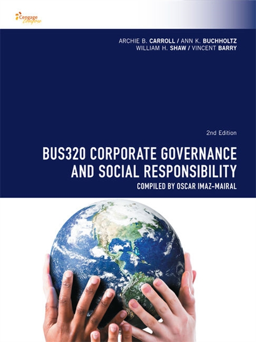 CP0987 - BUS320 Corporate Governance and Social Responsibility