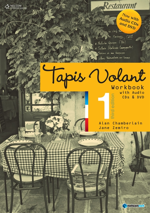 Tapis Volant 1 Workbook REVISED: with Audio CDs and DVD