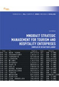 CP0992 - MNG00417 Strategic Management for Tourism and Hospitality  Enterprises