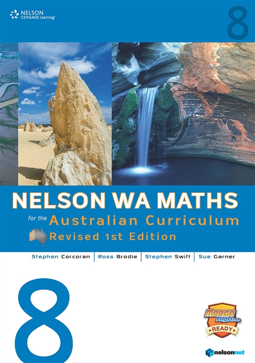 Nelson WA Maths for the Australian Curriculum 8 Revised Edition  (Student Book & 4 Access Codes)