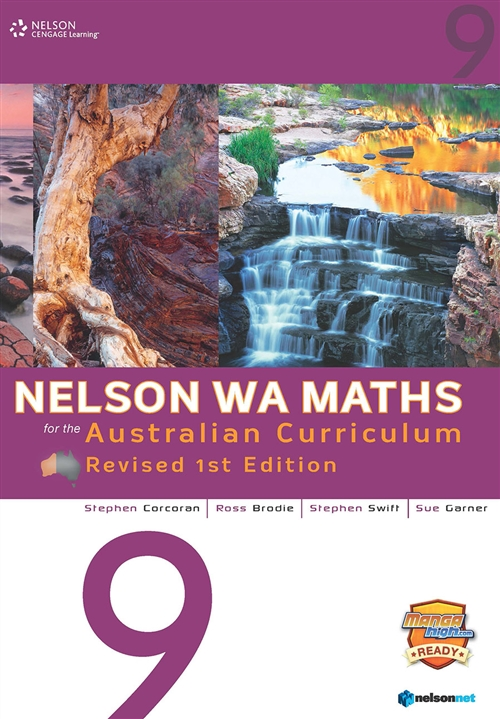 Nelson WA Maths for the Australian Curriculum 9 Revised Edition  (Student Book & 4 Access Codes)