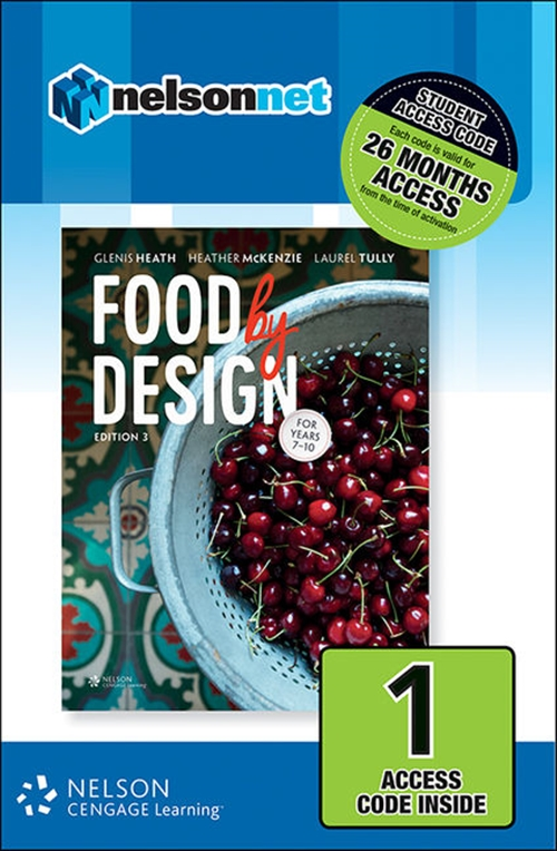 Food By Design (1 Access Code Card)