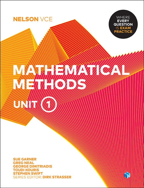 Nelson VCE Mathematical Methods Unit 1 (Student Book with 4 Access  Codes)