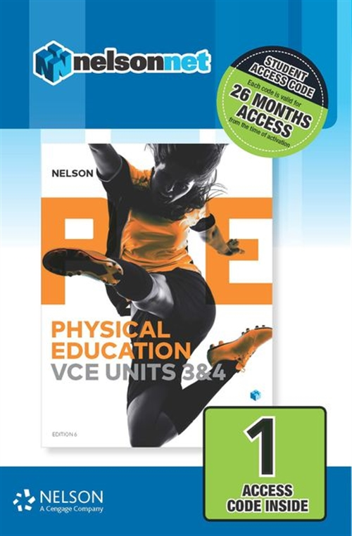 Nelson Physical Education VCE Units 3&4 (1 Access Code Card)