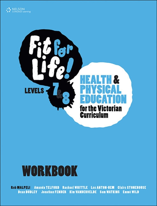 Fit for Life! for Victoria Levels 7'8 Workbook