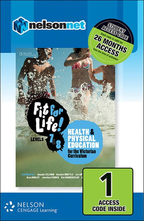 Fit for Life! for Victoria Levels 7 ' 8 (1 Access Code Card)
