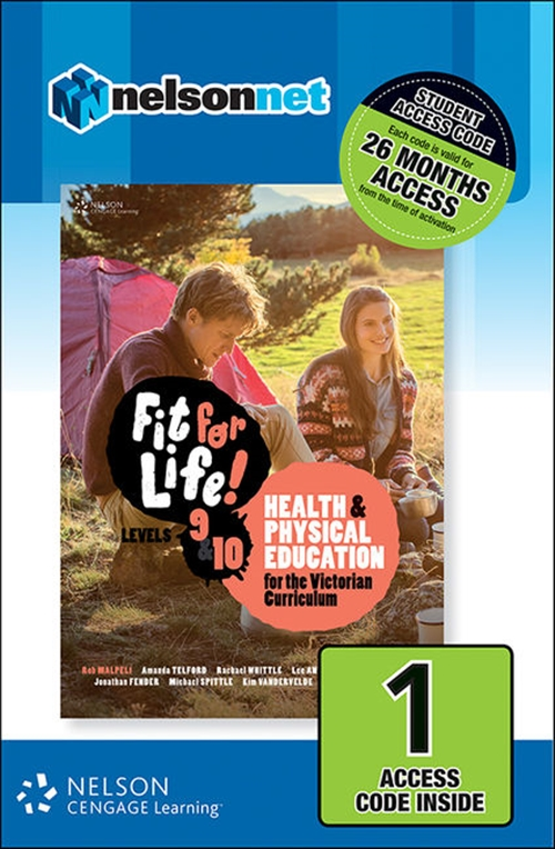 Fit for Life! for Victoria Levels 9 ' 10 (1 Access Code Card)