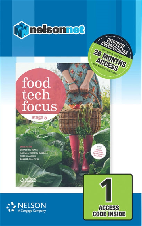 Food Tech Focus Stage 5 (1 Access Code Card)