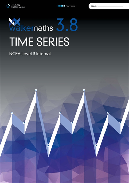 Walker Maths Senior 3.8 Time Series Workbook