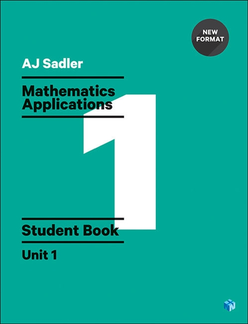 Sadler Maths Applications Unit 1 ' Revised Format