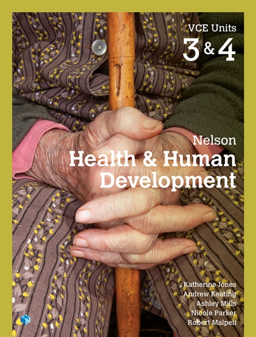 Nelson Health & Human Development VCE Units 3 & 4 Student Book with 4  Access Codes