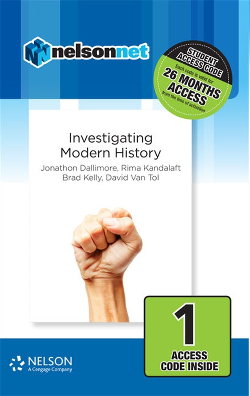 Nelson Modern History: Investigating Modern History (1 Access Code Card)