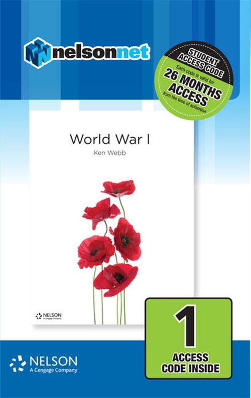 Nelson Modern History: World War I (1 Access Code Card)