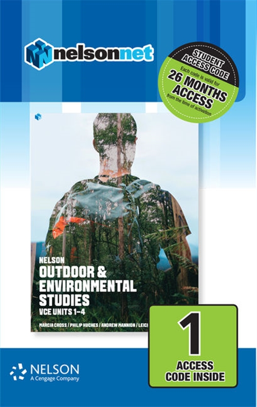 Nelson Outdoor & Environmental Studies VCE Units 1 ' 4 (1 Access Code  Card)