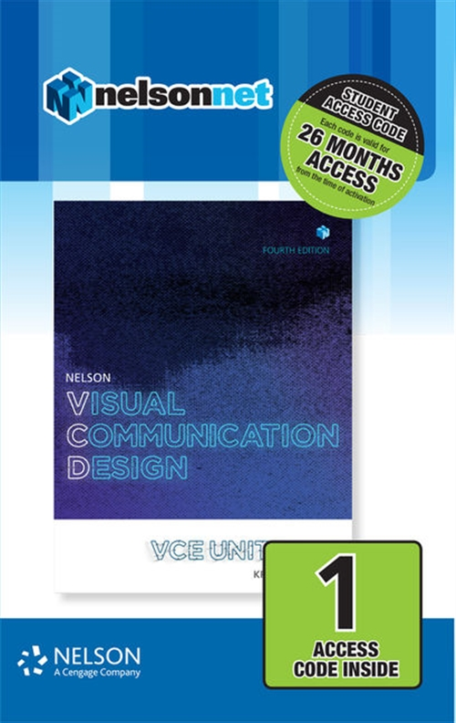 Nelson Visual Communication Design VCE Units 1 ' 4 (1 Access Code Card)