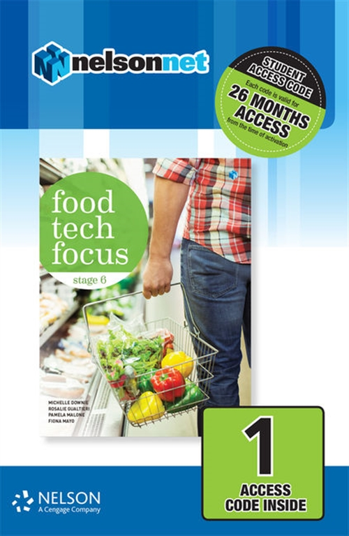 Food Tech Focus Stage 6 (1 Access Code Card)