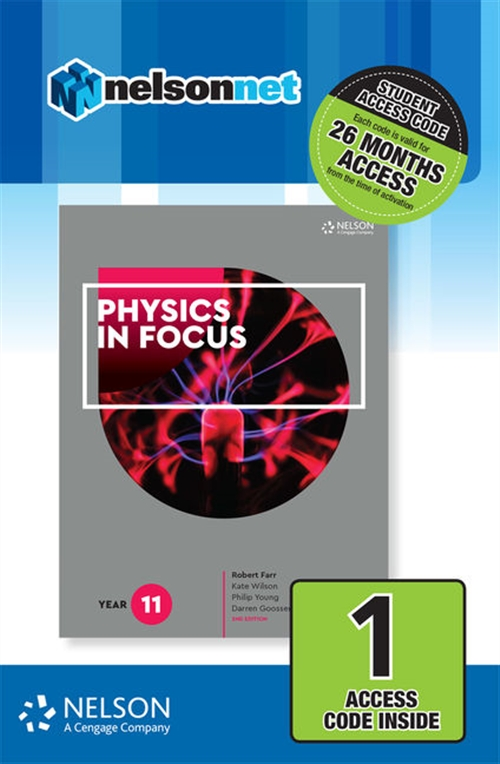 Physics in Focus Year 11 (1 Access Code Card)