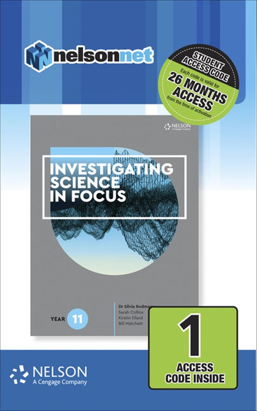 Investigating Science in Focus Year 11 (1 Access Code Card)