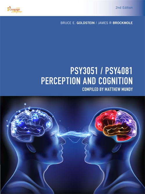 PSY3051/PSY4081 Perception and Cognition