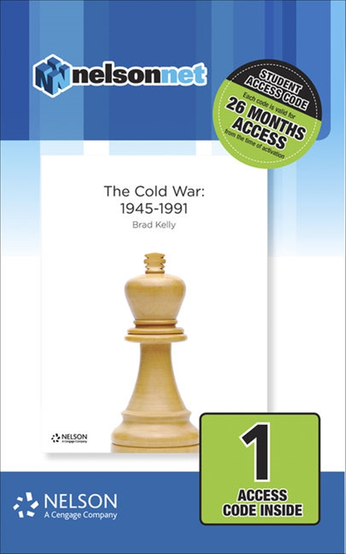 Nelson Modern History The Cold War 1945-1991 (1 Access Code Card)